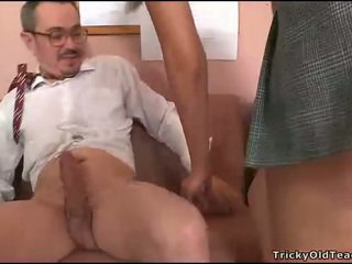 Doggystyle fucking with teacher