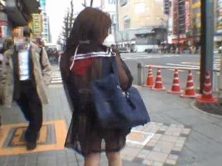 japonec, voyér, amatérske dievča