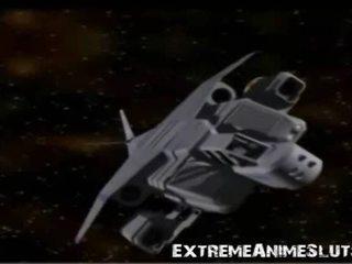 3d Tentacles Fuck Sci-fi Girl!