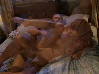 Jadra Holly Slap And Tickle With A Lengthy Man's Pole