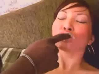 Black on asian anal fuck