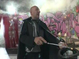Sleaze Angels Dance And Omar Galanti Performs Magic Tricks.