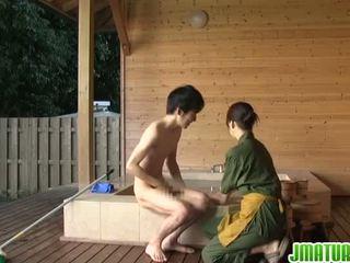 יפני gal הוא פיקנטי ב sensuous פורנוגרפיה