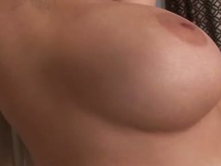 Breasty Babe Aria Giovanni Playing Her Moist Bawdy Cleft On The Couch