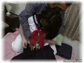 Asian Schoolgirl Having Crazy Intercourse