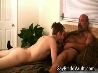 Bushy homo 粗毛 制造 出 sext juvenile 9 由 homopridevault