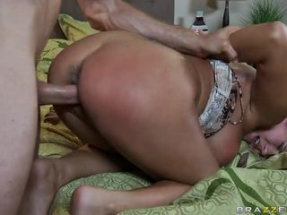 Large Boobs PornStar TRina Michaels In Unfathomable Anal Fuck