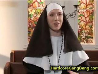 brunete, grupu sekss, blowjob, tūpļa