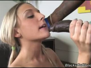 Tristyn kennedy let darksome dong load her donut with cum