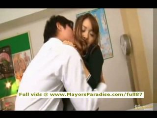 Mihiro from idol69 asian teen brunette gets licked