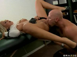 Horny Wench Brandy Blair Acquires Her DeliCate Snatch Nailed Deep From Her Back