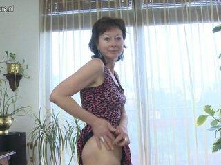 volwassen, euro porn, aged lady