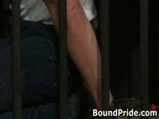 Christian trent gets তার tortured ধর্ষণ fcuked 1 দ্বারা boundpride