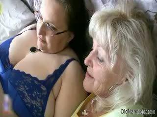 Nadržané babka loves having lezbické sex part6