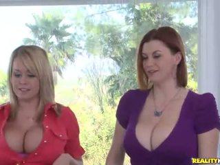 Big Titty Whores in Threesome XXX