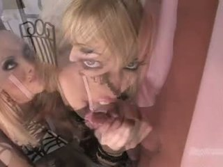 Gitta blond jana like to blow the whistle with ally
