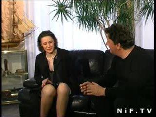 أشعر فرنسي جبهة مورو في الملابس الداخلية الشرجي مارس الجنس
