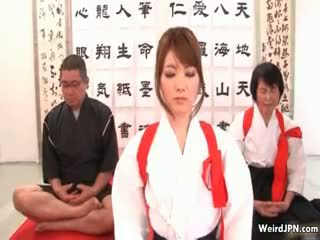 น่ารักน่าหยิก ญี่ปุ่น karate ผู้หญิงสวย วิปริต part6