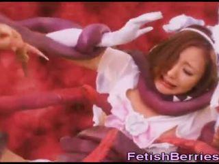 Alien s joder japonesa adolescentes!