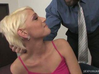 Blondin tonårs christine alexis körd kåta läraren