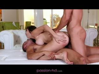 Passion hd: første dp til babe holly michaels