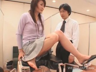 Cute Asian Babe Gets Wet Snatch Checked At The Gynecologist