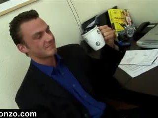 velká prsa, kancelář, nejžhavější anální vidět