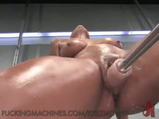 Veruca Jame's Ass Fucked by Machines