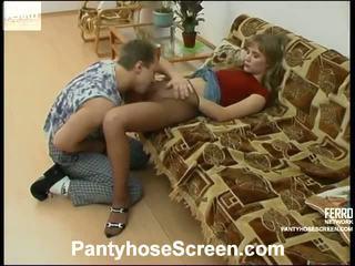 Diana And Adrian Kinky Hose