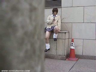 जपानीस स्कूल गर्ल pubic बाल