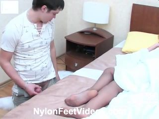 any foot fetish, more stocking sex great