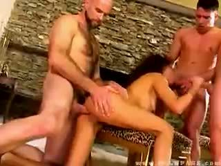 Olivia del rio banged av tre dudes