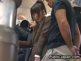 japansk, offentliga kön, voyeur, avsugning