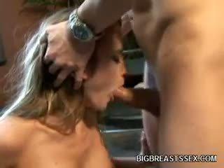 gran big boobs completo, mamada, rubia