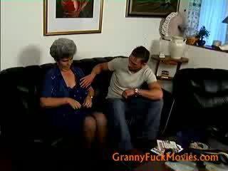 i vjetër, grua më, i madh gjyshe në linjë