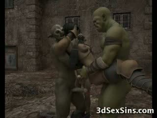 Ogres homosexual vroče 3de bejbe!
