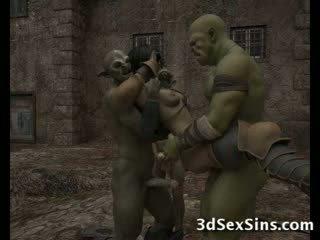 Ogres homosexual Καυτά 3d babes!