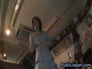 japonais, voyeur, masturbation