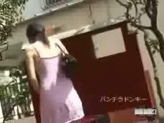 Japonesa sharking para pubic cabelo vídeo