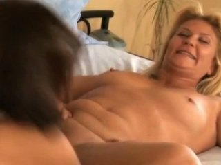 Mature lesbians having hot oral sex