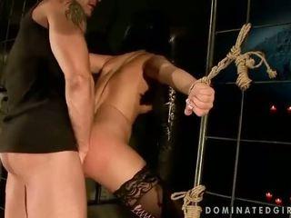 Madison Parker gets bondaged and analized
