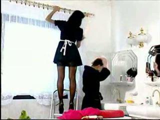 Slutty υπηρέτρια anita ξανθός