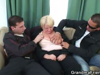 group sex, granny, moms and boys