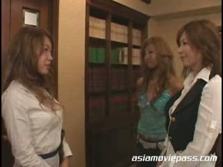Rio Nakayama Japanese kissing lesbians avgp037