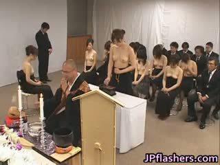 giapponese, sesso di gruppo, grandi tette, interrazziale
