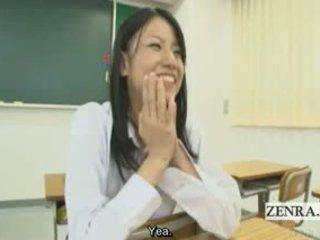 voll japanisch groß, sehen cfnm frisch, schön uniform