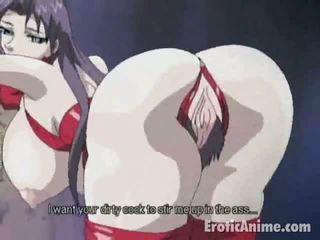 Charming brunete manga
