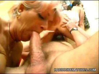 hardcore sex, dewasa, aged lady