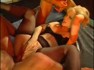 double penetration, orgy (group), anal, mature