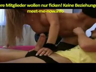 Horny German Blonde Gets Fucked